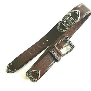 BRIGHTON Western Leather Belt
